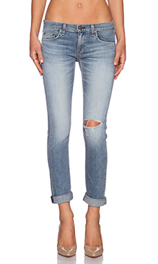 rag & bone/JEAN The Dre Boyfriend in Mariner