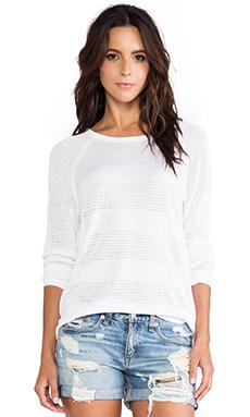 rag & bone/JEAN Bobbi Raglan Pullover in White