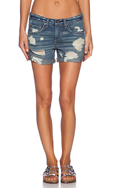 rag & bone/JEAN Boyfriend Short in Obispo Rebel