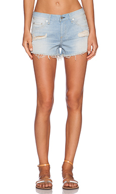 rag & bone/JEAN The Cut-Off Short in Outer Banks