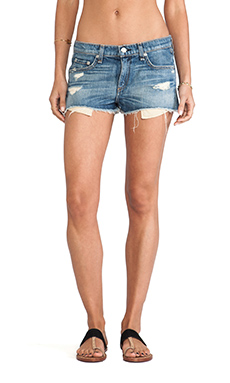 rag & bone/JEAN The Mila Short in Moss