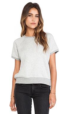 rag & bone/JEAN Rocky Sweatshirt in Heather Grey