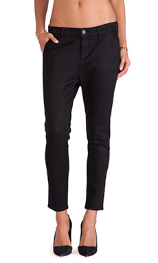 rag & bone/JEAN Dash Trouser in Black Resin