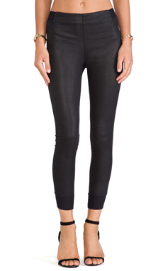 rag & bone/JEAN The Danny Legging in Coated Black
