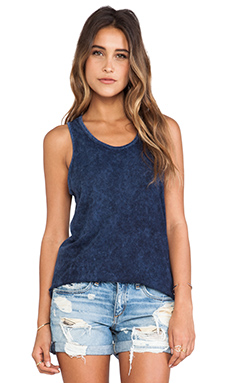 rag & bone/JEAN Cast Tank in Navy
