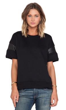 rag & bone/JEAN Lira Fleece in Black