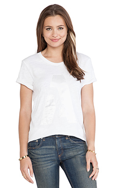 rag & bone/JEAN Boyfriend Tee in Bright White