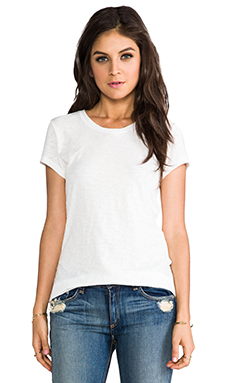 rag & bone The Classic Tee in Bright White