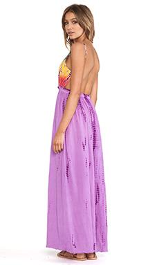 Raga Tie Dye Maxi Dress in Purple