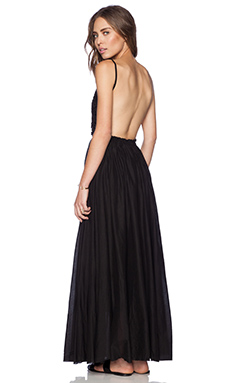 Raga Maxi Dress in Black