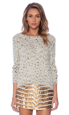 Raga Sequin Sweater in Beige