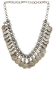 Raga Coin Necklace in Silver