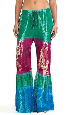 Raga Tie Dye Pants in Fuchsia
