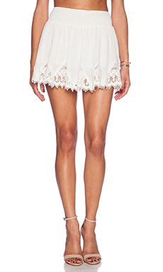 Raga The Marianna Skirt in Eggshell