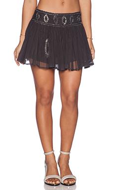 Raga Sequin Tulle Skirt in Grey