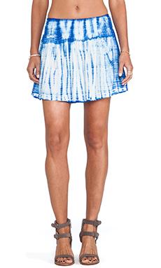 Raga Circle Skirt in Navy