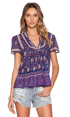 Raga Indigo Blouse in Purple