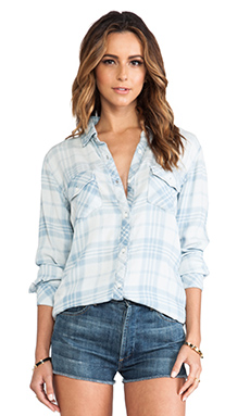 Rails Liam Button Down in Vintage Wash Plaid