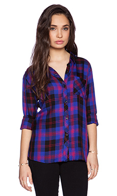 Rails Hunter Button Down in Electric Blue