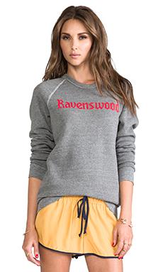 Rachel Antonoff Ravenswood Sweatshirt in Heather Grey