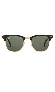 Ray-Ban Clubmaster Classic in Matte Black