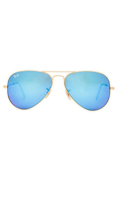 Ray-Ban Aviator Flash Lenses in Blue