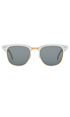 Ray-Ban Clubmaster Aluminum in Silver