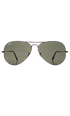 Ray-Ban Aviator Large Metal II in Black