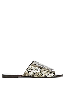 RAYE Sienna Slide in Grey Python