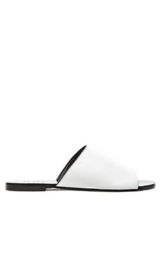RAYE Sienna Slide in White