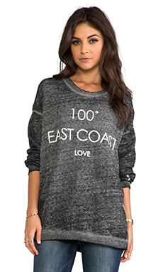 Rebel Yell East Coast Stroked Warm Up in Heather Grey