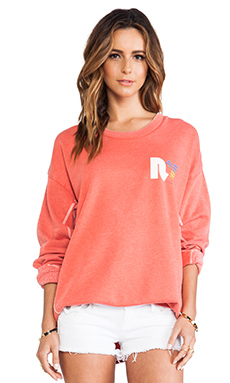 Rebel Yell x REVOLVE Strokes Warm Up Fleece in Soft Red