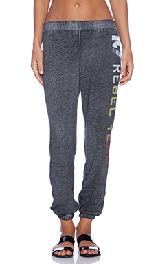Rebel Yell Rebel Yell Rainbow Favorite Sweats in Heather Gray
