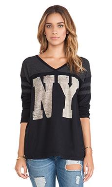 Rebel Yell NY Football Jersey in Black