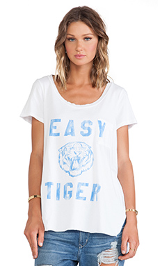 Rebel Yell Easy Tiger Pocket Tunic in White