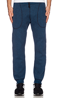 Reigning Champ Sweatpant in Navy/Pacific