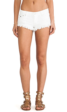 RES Denim Trashqueen Short in Whitewalker