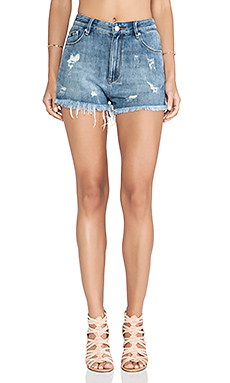 RES Denim Kitty Cutoff Shorts in Phoenix
