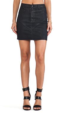 RES Denim Lil Lover Skirt in Black Heart