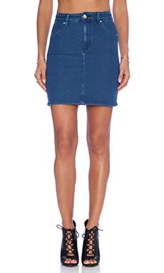RES Denim Lil' Lover Skirt in True Blue