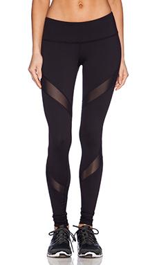 Rese Mia Legging in Black & Black Mesh