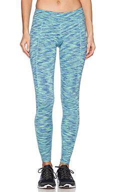 Rese Meg Legging in Blue & Lime