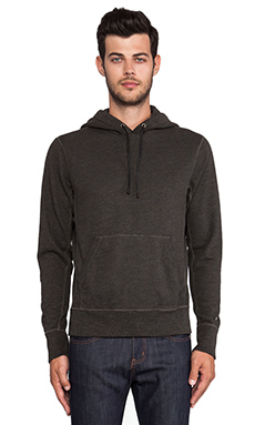 rag & bone Classic Hoody in Black