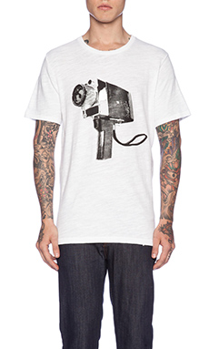 rag & bone Camera Tee in Bright White