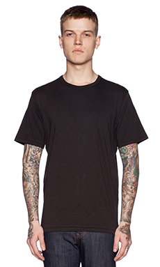 rag & bone Perfect Jersey Tee in Black