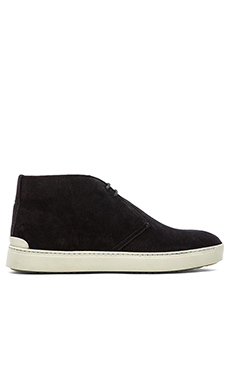 rag & bone Tyne Desert Sneaker in Black Suede