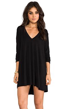 Riller & Fount Kevin Tunic Dress in Black