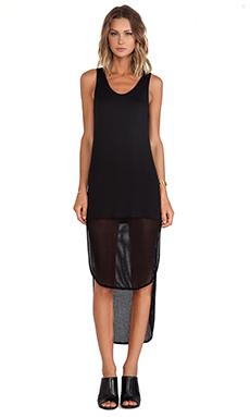 Riller & Fount Monique Maxi Dress in Black