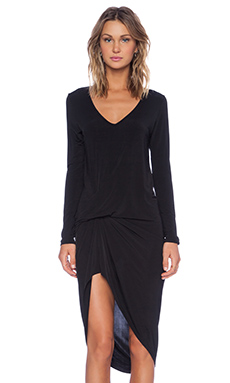 Riller & Fount Nino Dress in Onyx