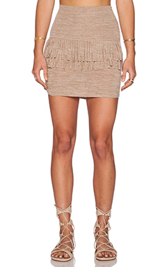 Riller & Fount Daisy Mini Skirt in Dirty Blonde